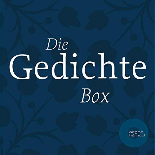 Die Gedichte Box (Die schönsten Gedichte von: Heinrich Heine / Joh. W. v. Goethe /Annette von Droste-Hülshoff /Joseph von Eichendorff /Friedrich Schiller)
