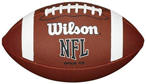 Wilson Nfl Genehmigt Offizielle Größe Bin Xb Beginner Pvc Football Braun (Wilson Nfl Offizielle Größe Football)