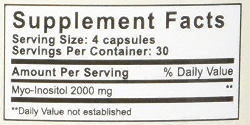 Myo-Inositol for PCOS,120 Capsules