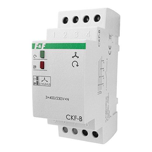 Spannungsüberwachungsrelais Ueberwachungs Relais mit Feste Schwelle der Spannungsasymetrie CKF-B F&F 3058 -