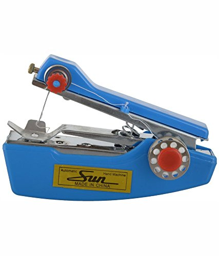 Handheld Mini Portable Sewing Stapler Machine for Cloth and Garment Stitching (Blue) By Anjali Enterprises