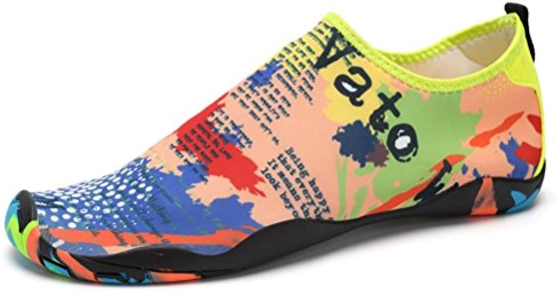 MMM Zapatos Zapatos de Agua Hombres Respirables Vela Zapatos de natación EN La Playa Zapatillas livianas Zapatos  -
