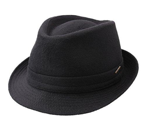 Stetson - Chapeau trilby feutre Trilby Wool