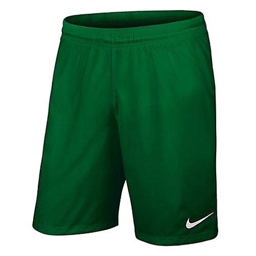 Nike Yth Laser III NB Woven Short-Pantaloni Corti da Ragazzo Multicolore Verde/Blanco (Pine Green/White) L