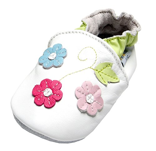 Dotty Flower (Jinwood designed by amsomo Flower Green Mini Shoes, EU 24/25)