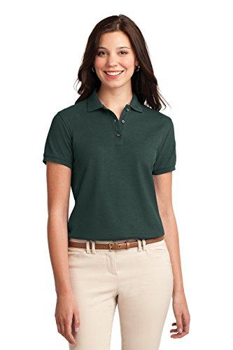 Port Authority - Polo - Body chemise - Femme vert foncé