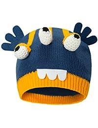 Mountain Warehouse Bonnet tricoté Alien pour Enfant - Léger, Doublure  Polaire, Chaud et Douillet b88da30371f