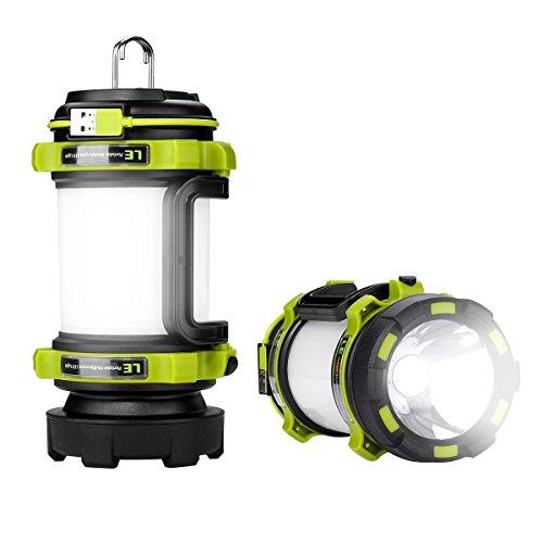 Le torcia-lanterna led 2 in 1, 500lm ricaricabile impermeabile ipx4 portatile luci frontali e laterali 4 modalità + 2 fa anche da caricabatterie