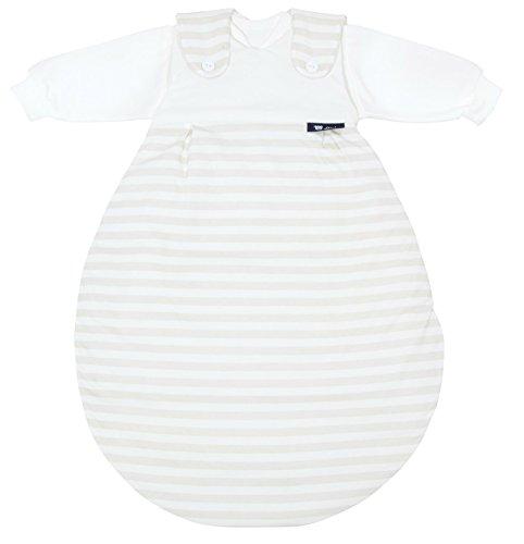 alvi-baby-mxchen-originale-dimensioni-74-80-strisce-di-colore-beige