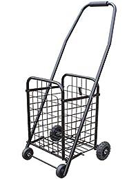 Carro de la Compra Portátil Plegable Carro de Escalada Trolley de Mano Remolque de Equipaje,