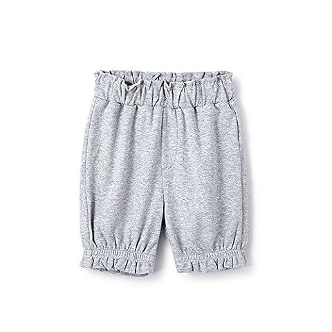 Yiigoo®Blaue Simple Style Organic Cotton Girl's Shorts-130/64