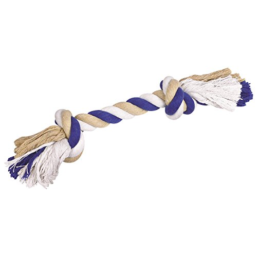 Grriggles Seil Knochen 14in blau