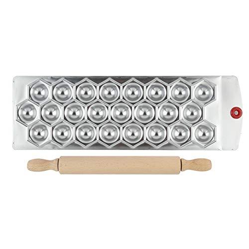 CHSEEO Knödel-Hersteller Pierogie Ravioliformer Maultaschenformer Knödelform Teigpresse Tortenform Ravioli-Stempel und Raviolischneider Gebäck-Werkzeug #1