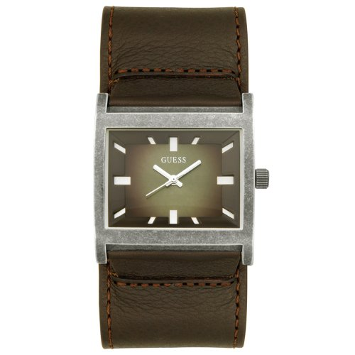 Guess Man Unisex Analogue Watch with Brown Dial Analogue Display - W10190G1