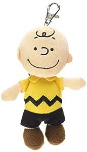 Aurora Mundial 5-Inch Peanuts Charlie Mochila Clip (Marrón)
