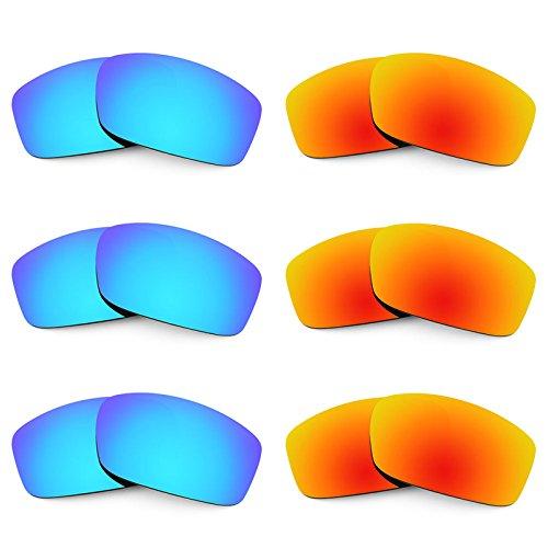 Revant Ersatzlinsen für Costa Caballito Polarisiert 6 Paar Kombipack K029