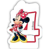 Caf Disney Minnie Mouse 4th Birthday Candle by Disney