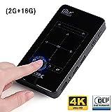 KAIDILA Mini projecteur D7. (Mémoire 2 g + 16 g en Option) WiFi Android intégré, 4, 000mah Batterie, hdmi. Projecteur Portable Support 4k, 1080p