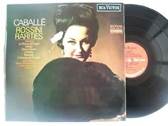 SB 6771 MONTSERRAT CABALLE Rossini Rarities vinyl LP autograph