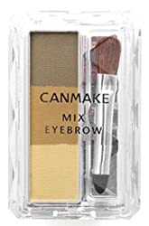 CANMAKE mix Eyebrow 02 Natural Brown 2g