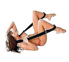 Idea Regalo - Bondage Costrittivo Gambe Aperte, con cuscinetto BDSM