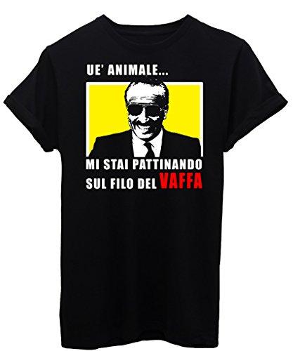 T-Shirt DOGUI CUMENDA ANIMALE SUL FILO DEL VAFFA - FAMOSI - by iMage Nera