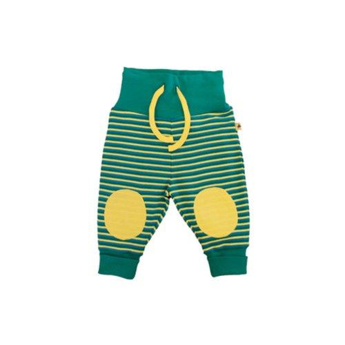 8011aebc6ded Leela Cotton Baby Ringel Pantalon Scandinavia en pur coton bio - Multicolore  - 62 cm