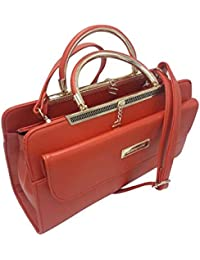 Purse Collection Elegance Women's Synthetic Leather Red Purse/woman Purse Handbag Leather/woman Purse In New Design...