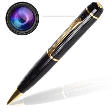 SAFETYNET Full HD Original Spy Pen Camera With High Quality Audio/Video With Dashboard Non-Slip Mat Free (BUMPER OFFER)