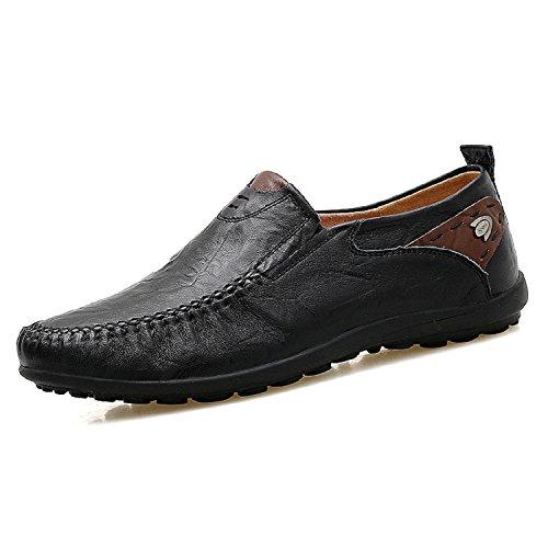 LILY999 Mocassini Scarpe da Uomo Slip On Pelle Penny Loafers Casual  Eleganti Scarpe da Guida EU 38-47 506cfe85cd1
