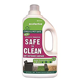ecofective ecf0036 Safe to Clean Probiotic Cleaner Super Concentrate, White, 13.5 x 8.4 x 24 cm