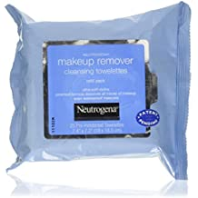 Toallitas de limpieza para quitar maquillaje, toallitas 25 prehumedecida - Neutrogena