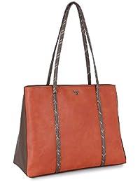 Baggit Women's Shoulder Bag (Orange)
