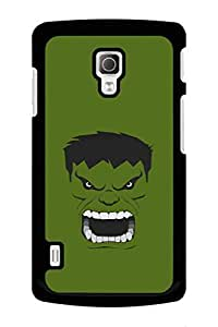 Caseque Incredible Hulk Back Shell Case Cover for LG L72