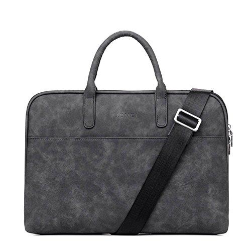 Unisex 13 -13,3 Zoll Laptop-Tasche Aktentasche Handtasche Messenger Bag Business Umhängetasche mit Handgriff und Schultergurt für MacBook Pro, MacBook Air, Notebook Computer, Laptop