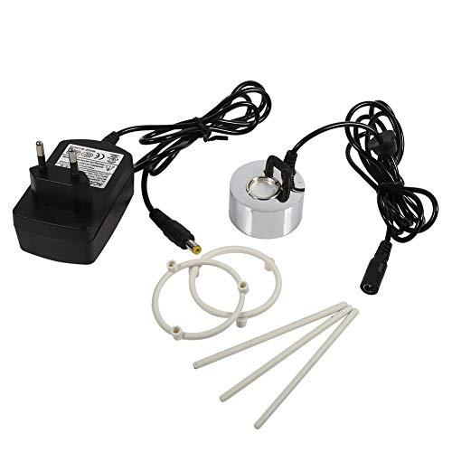 Pasamer 24V Ultraschall Nebelmaschine Nebelmaschine Springbrunnen Teich Zerstäuber Luftbefeuchter mit Adapter(01) (Ultraschall-große Luftbefeuchter)