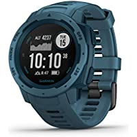 Garmin Instinct - Montre GPS Multi-Fonctions Outdoor - Bleu Lac
