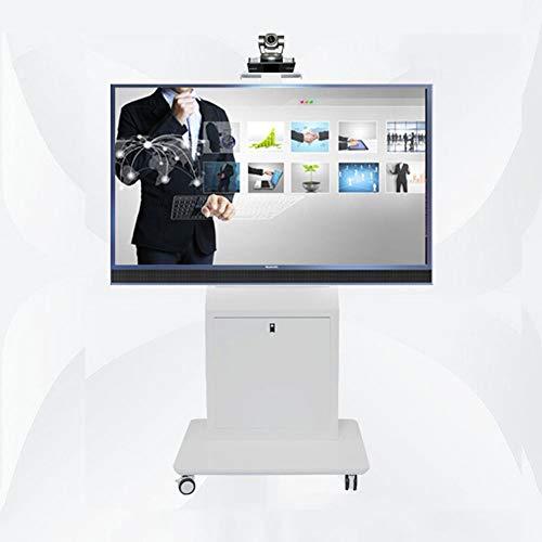 Xue TV Portatile Stand Pavimento in Piedi, Carrello TV per 40-80 Pollici  LED LCD al Plasma TV A Schermo Piatto Display 360 º di Ruote Girevoli  Camera ...