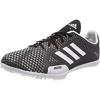 online store ae02a 14d49 adidas Herren Adizero Ambition 4 Leichtathletikschuhe, Schwarz, 47.3 EU