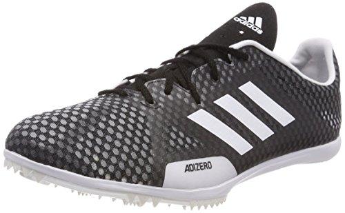 adidas Adizero Ambition 4, Scarpe da Atletica Leggera Uomo, Nero (Negbas/Ftwbla/Naalre 000), 42 2/3 EU