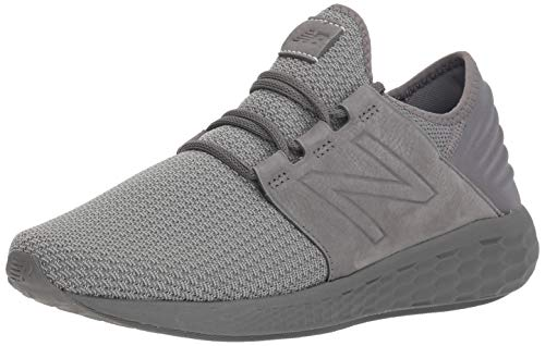 New Balance Herren Fresh Foam Cruz v2 Knit Laufschuhe, Grau (Castlerock/Team Away Grey Ng2), 47.5 EU -