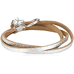 Liebeskind Berlin Joy cometa Damen Armband, Silber (Silver 0065)