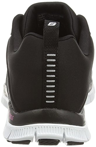 Skechers - Flex Appeal Next Generation, Sneakers da donna Nero (Nero (Black/White))