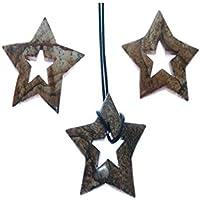 Bilderjaspis 1 Doppelstern Stern mit sternförmiger Bohrung Größe ca. 4.5 cm Sein Gewicht 12 g. preisvergleich bei billige-tabletten.eu