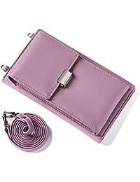 Bandolera para Mujer,Bolso de Hombro Cuero pequeño Bolso De Mano Crossbody Bag con Correa para el Hombro Cartera Niñas para Casual Moda…