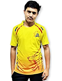 f5bacb5e7 Chennai Super Kings Tshirts Ipl Jersey For Men 2018 (Csk T Shirts ...