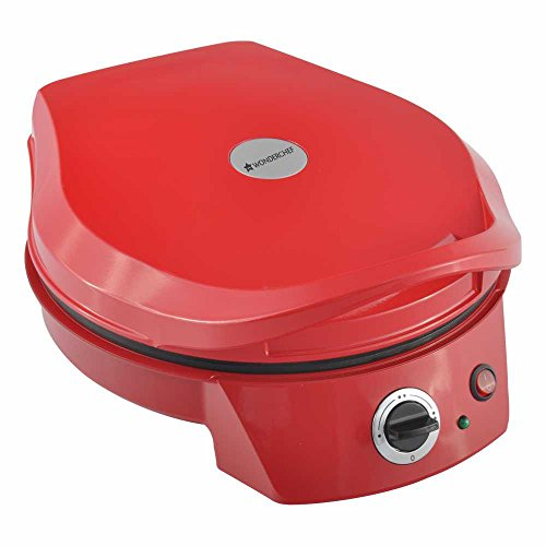 Wonderchef Italia 1650W Pizza Maker 30CM (Red/Black)