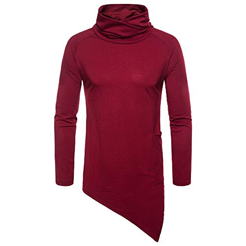 togel Fashion Herren Casual Solid Herbst Winter Choker Outwear Tops schwarz Pullover Herren Pullover Pullover Männer Pullover Pullover Strickjacke