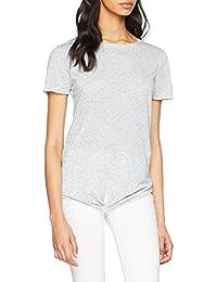 ONLY Women's Onllina Ss Knot Top JRS T-Shirt
