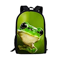 Beauty Collector 3D Animal Print Lightweight Backpacks Casual School Bags Daypacks